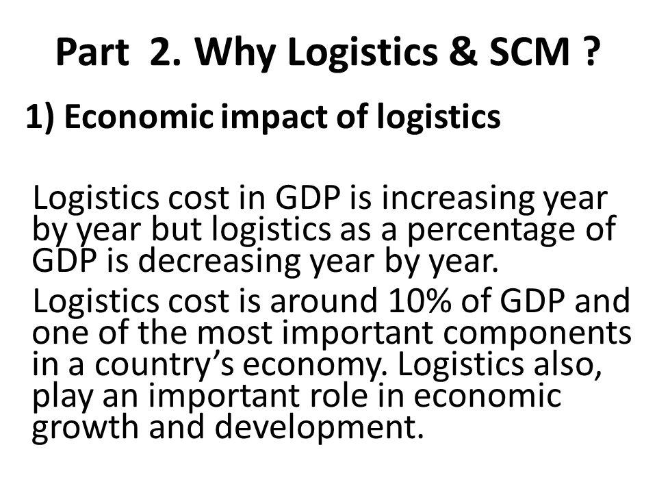 Part 2. Why Logistics & SCM