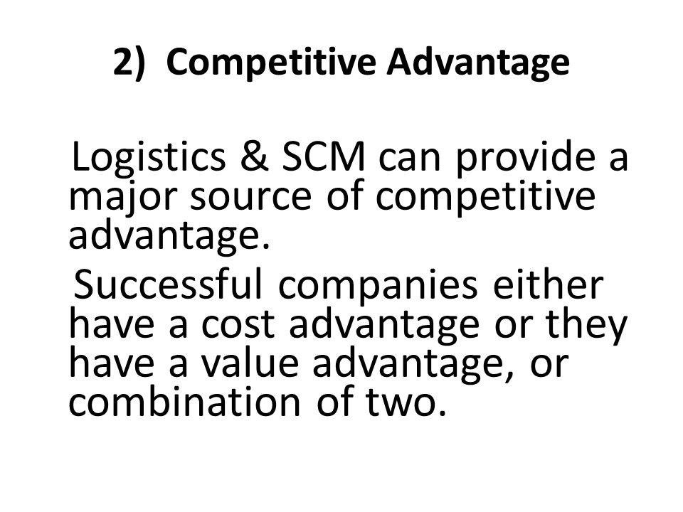 2) Competitive Advantage