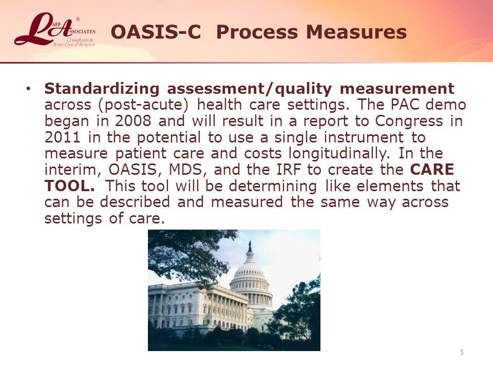 OASIS-C Process Measures
