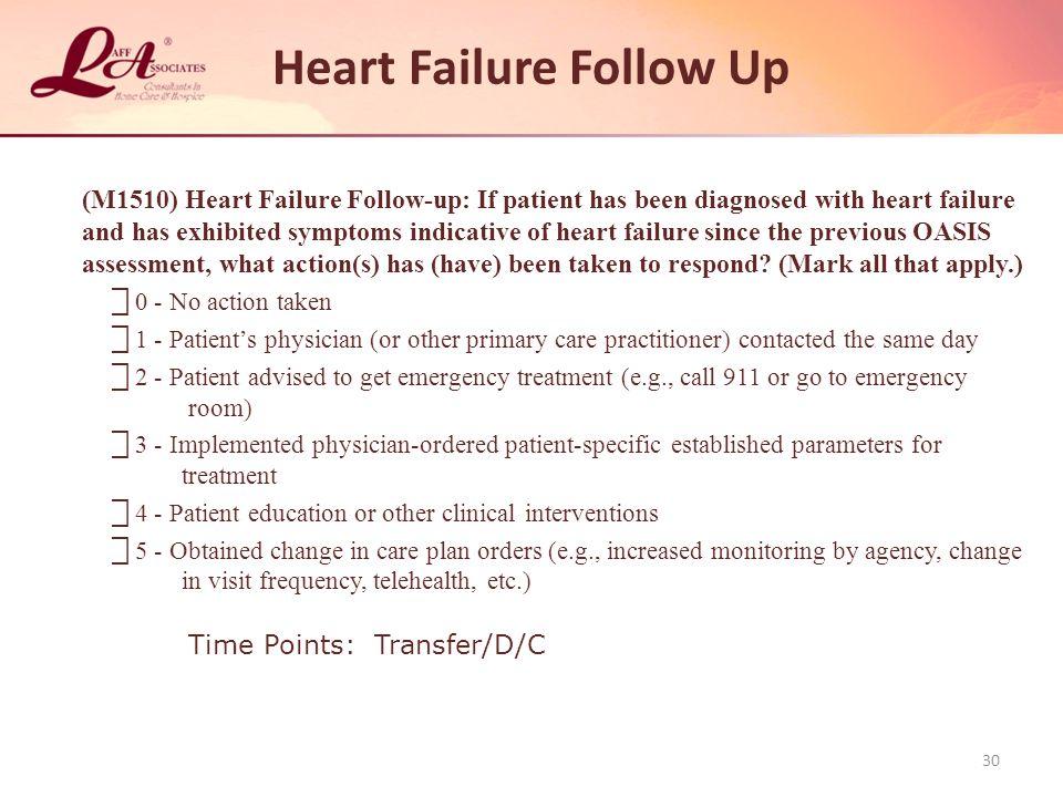Heart Failure Follow Up