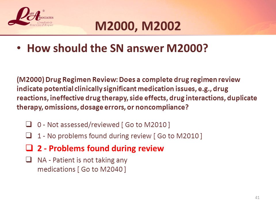 M2000, M2002 How should the SN answer M2000