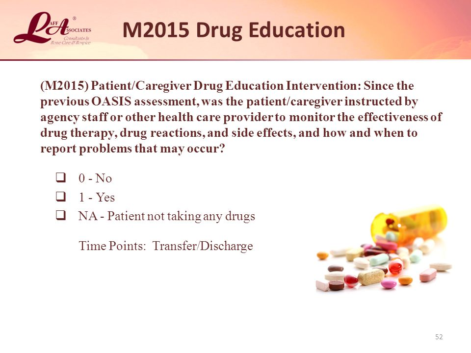 M2015 Drug Education