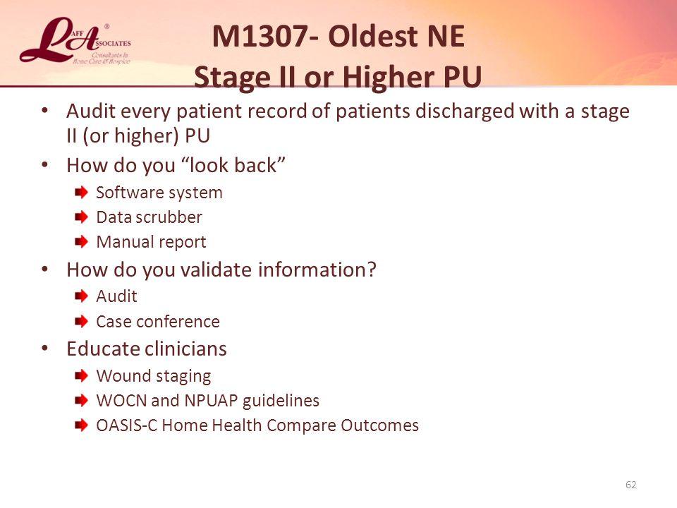 M1307- Oldest NE Stage II or Higher PU
