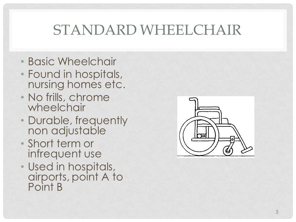 Standard Wheelchair Basic Wheelchair