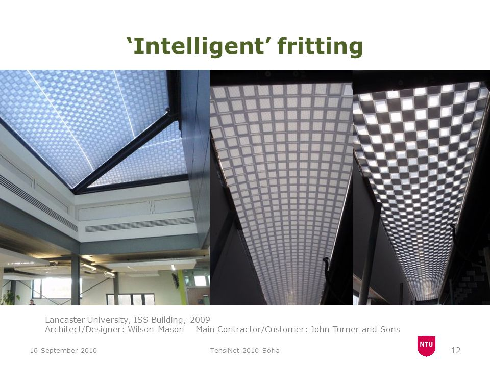 'Intelligent' fritting