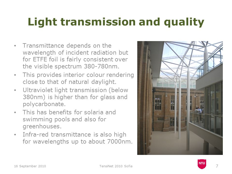 Light transmission and quality