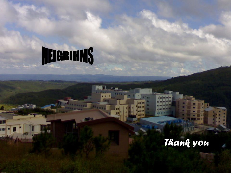 Thank you… NEIGRIHMS NEIGRIHMS Thank you Thank you