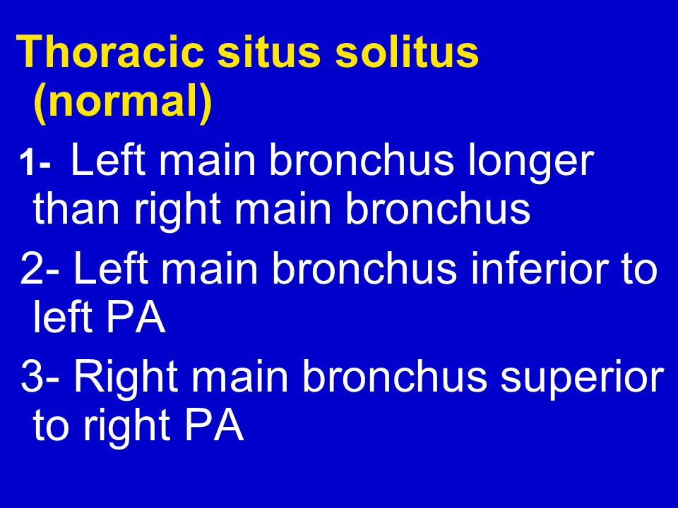 2- Left main bronchus inferior to left PA