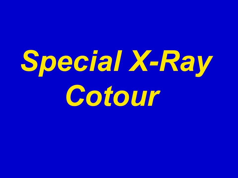Special X-Ray Cotour