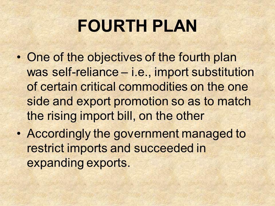 FOURTH PLAN