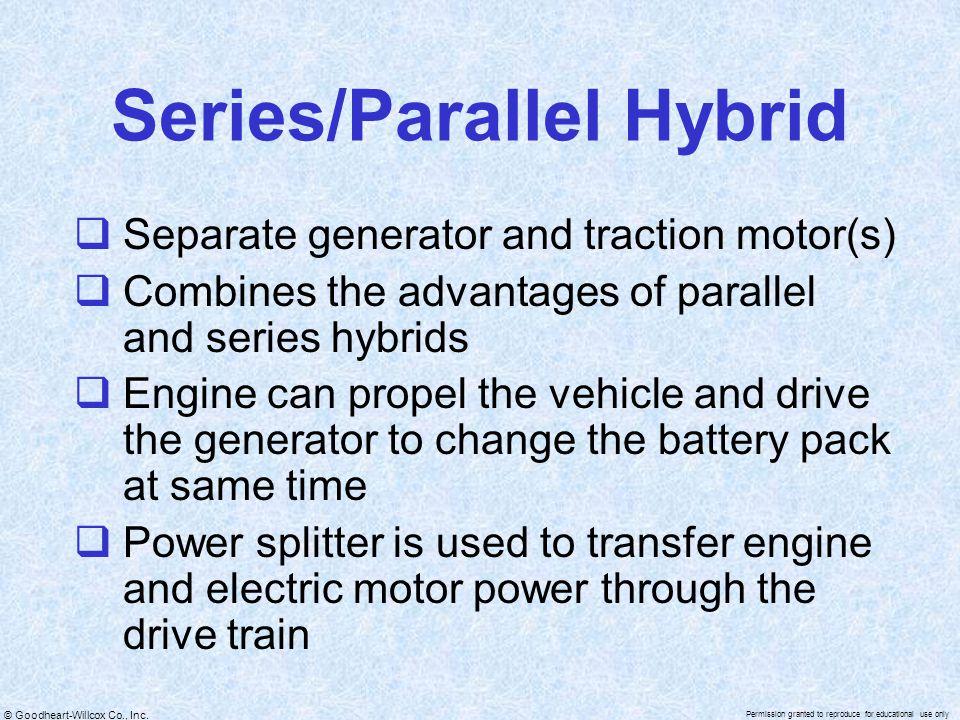 Series/Parallel Hybrid