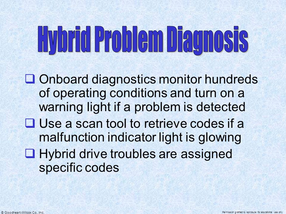Hybrid Problem Diagnosis