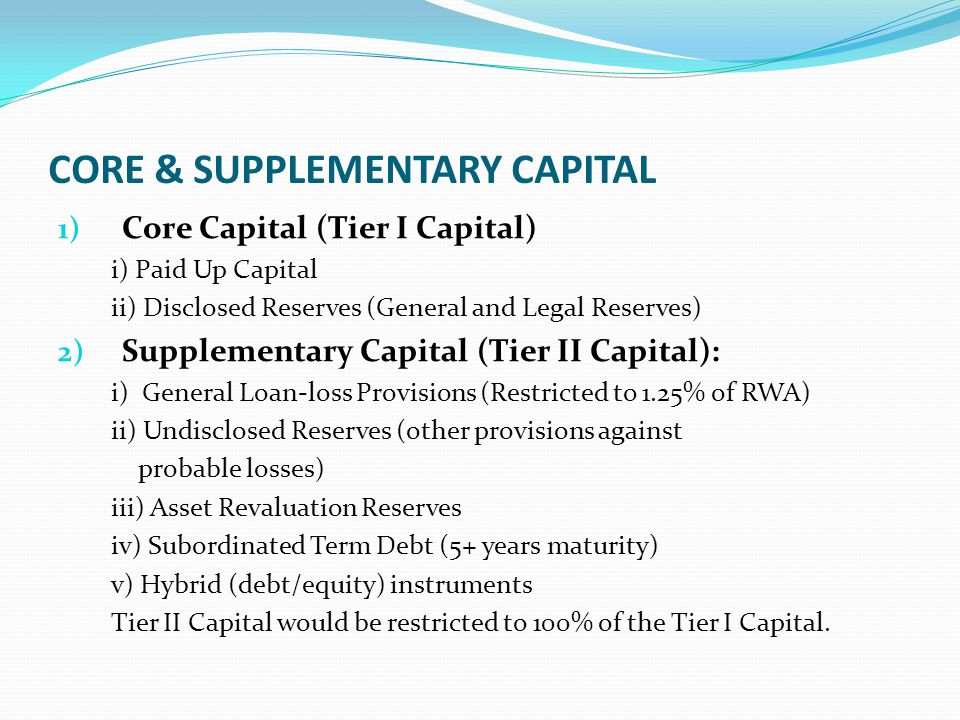 CORE & SUPPLEMENTARY CAPITAL