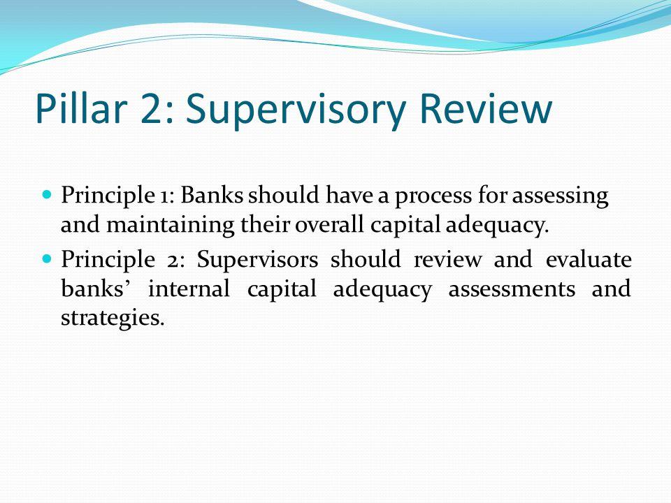 Pillar 2: Supervisory Review