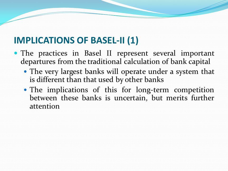 IMPLICATIONS OF BASEL-II (1)