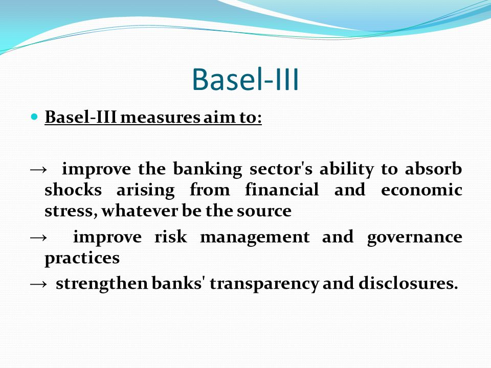 basel implementation efficiency measurement of Credit risk measurement under basel ii : an overview and implementation issues for developing countries (english) abstract the objective of this paper is to provide an overview of the changes in the calculation of minimum regulatory capital requirements for credit risk that have been drafted by the basel committee on banking supervision (basel ii).