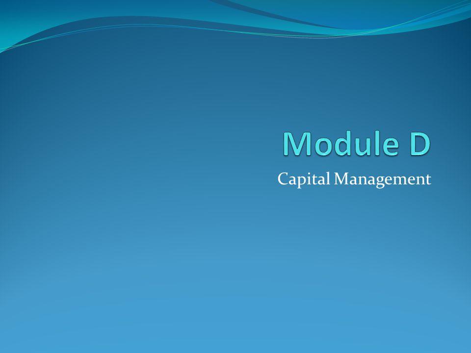 Module D Capital Management