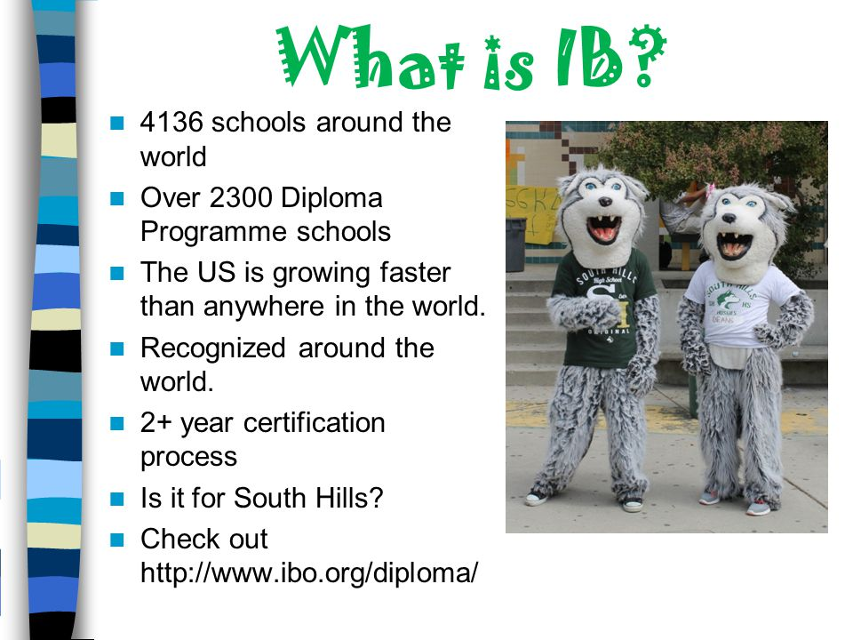 What is IB 4136 schools around the world