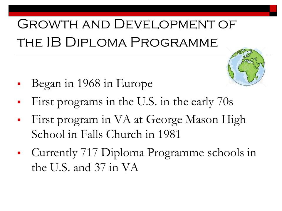 Growth and Development of the IB Diploma Programme