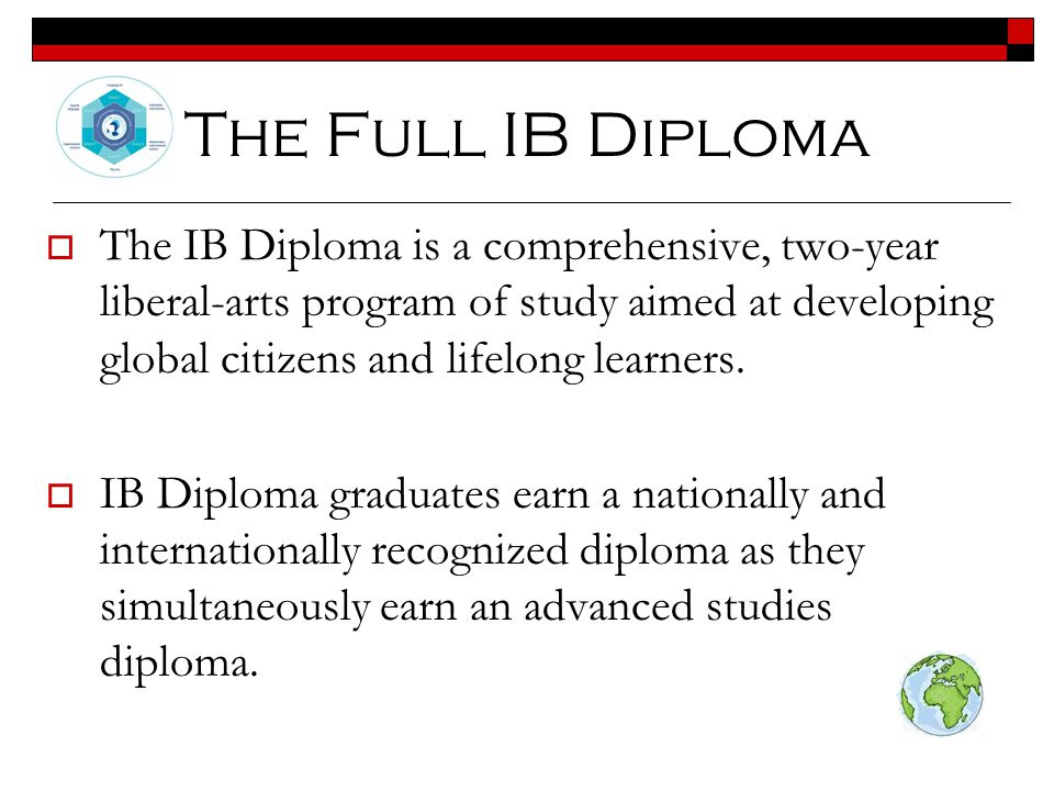 The Full IB Diploma