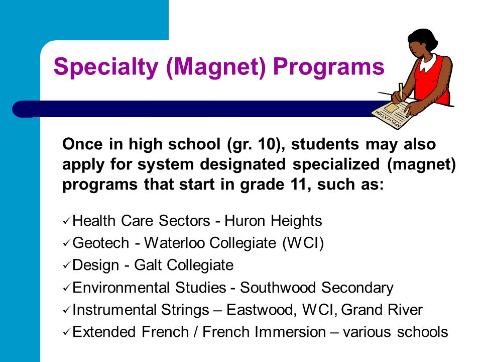 Specialty (Magnet) Programs
