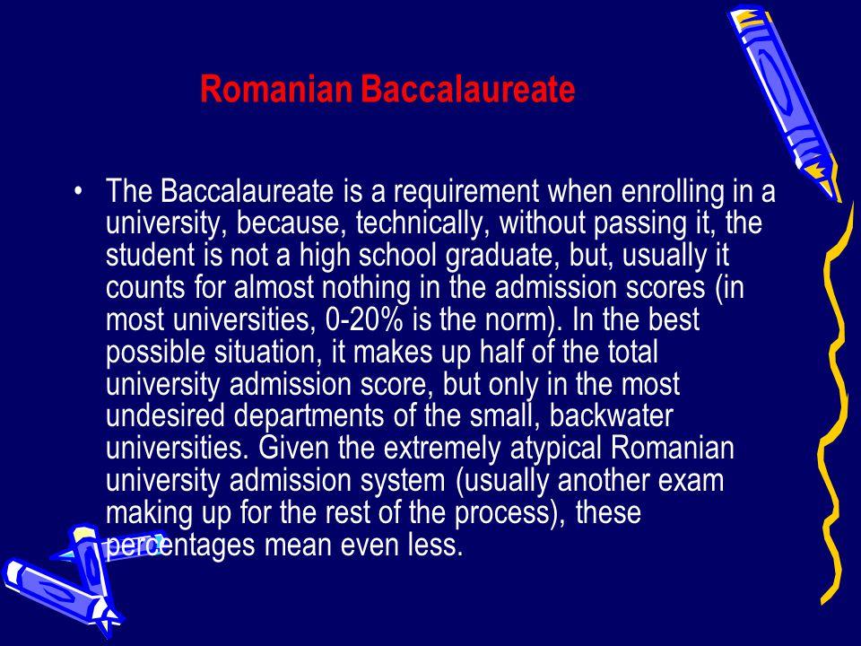 Romanian Baccalaureate