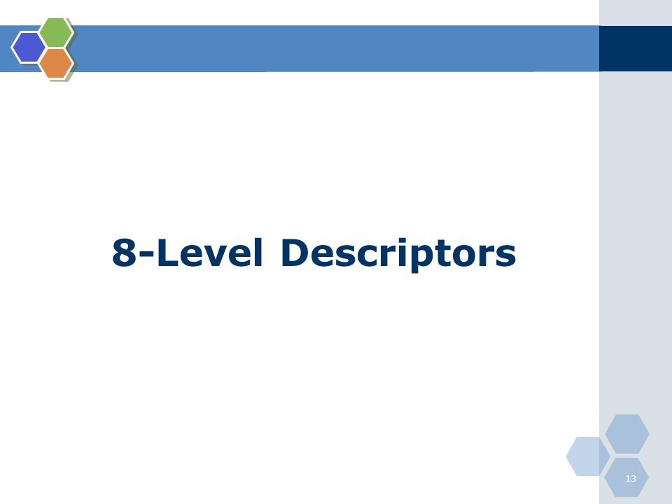 8-Level Descriptors