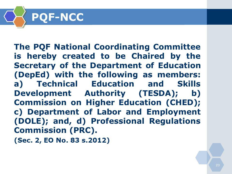 PQF-NCC