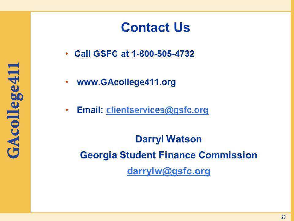 Georgia Student Finance Commission