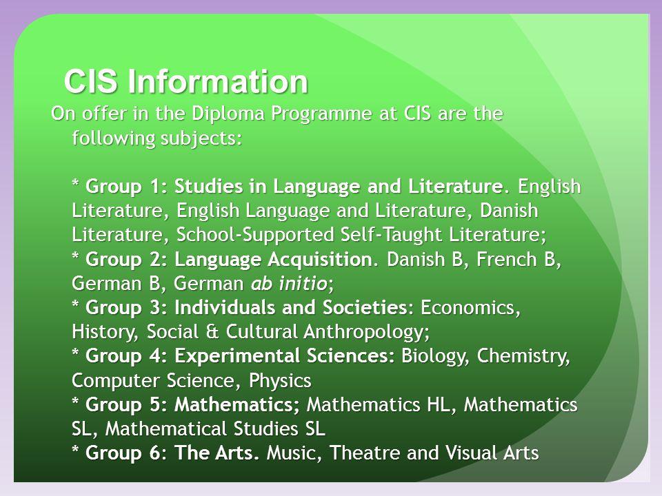 CIS Information