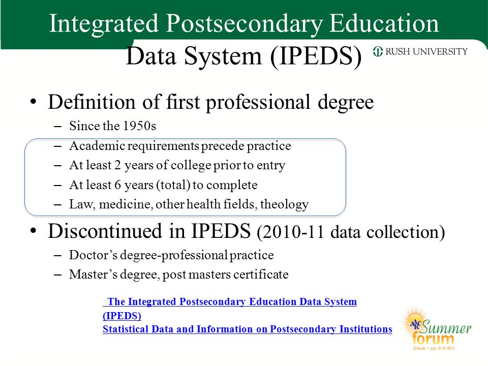 Integrated Postsecondary Education Data System (IPEDS)