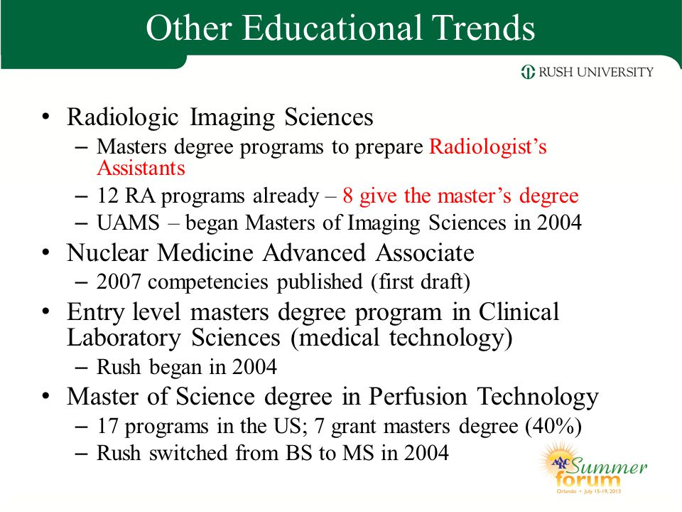 Other Educational Trends
