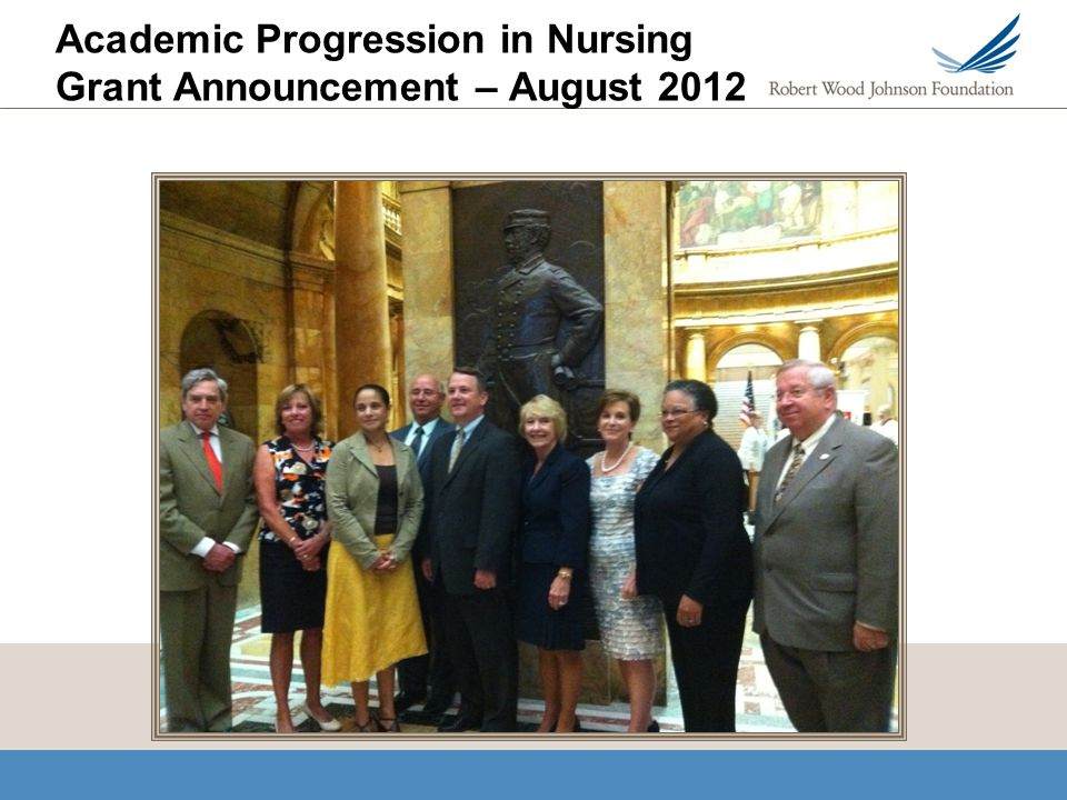 Academic Progression in Nursing Grant Announcement – August 2012