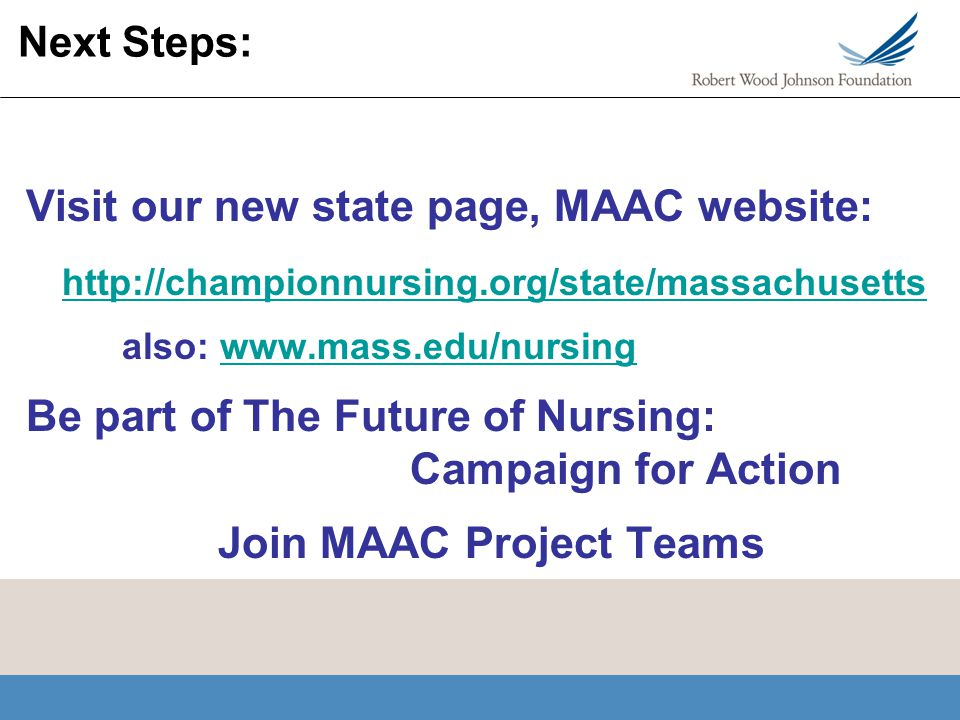 Visit our new state page, MAAC website: