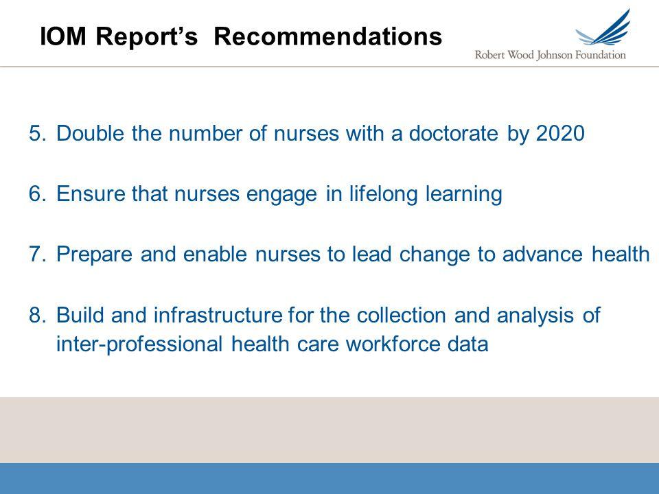 iom effects on nursing