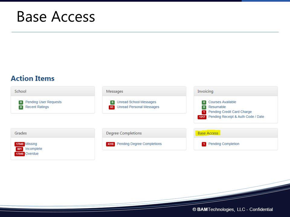 Base Access