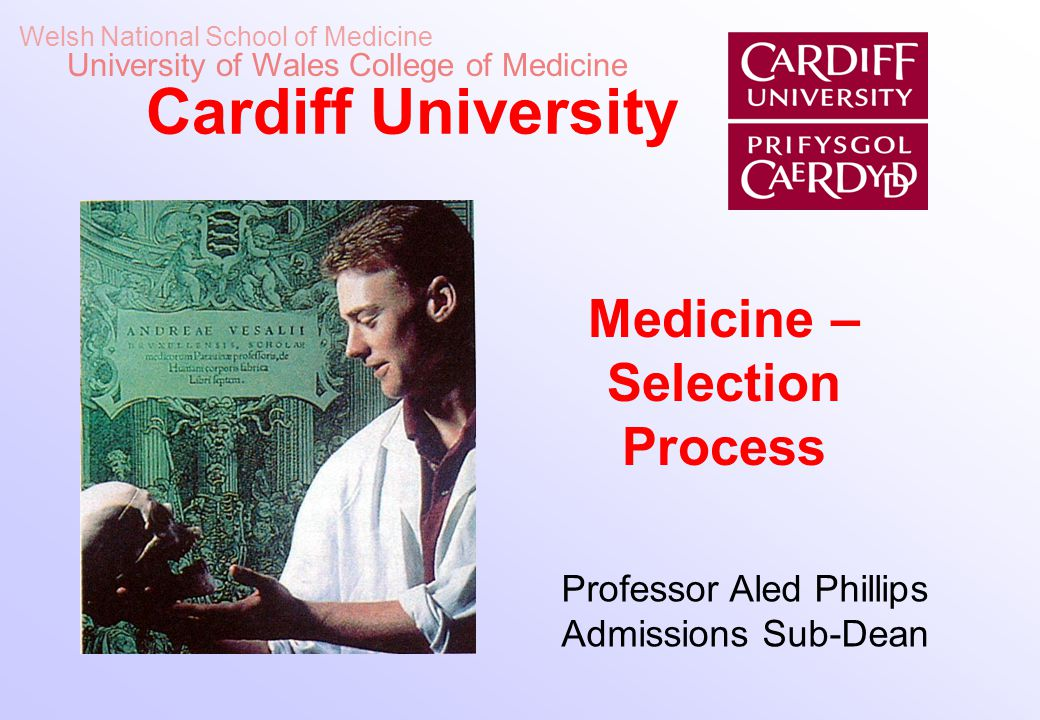 Medicine –Selection Process