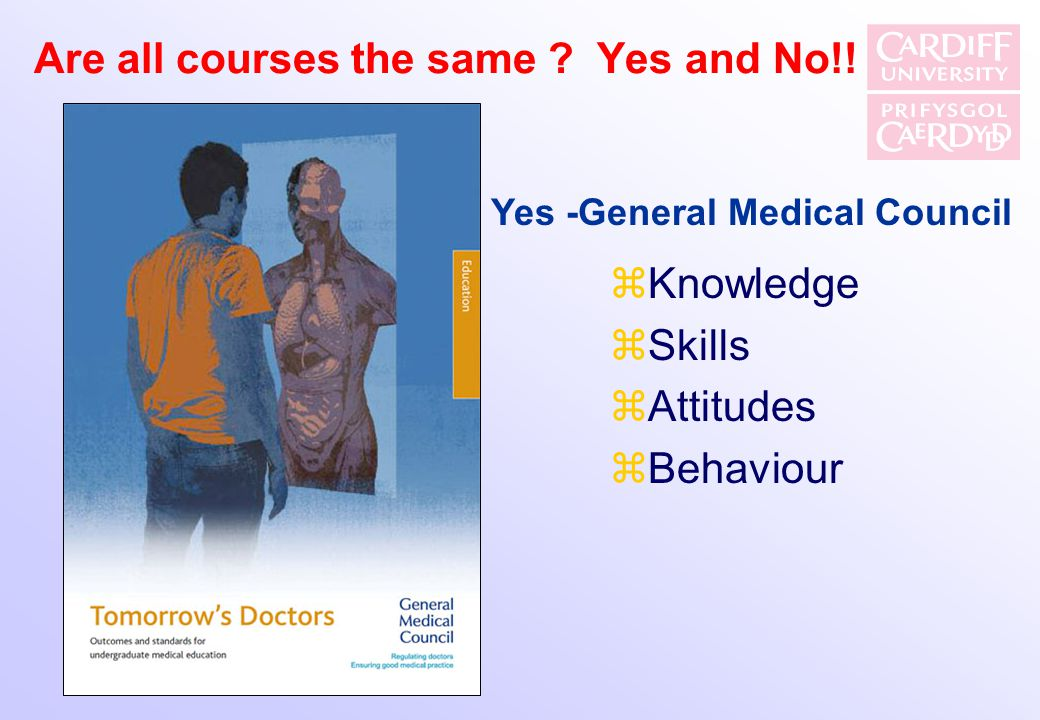 Are all courses the same Yes and No!!