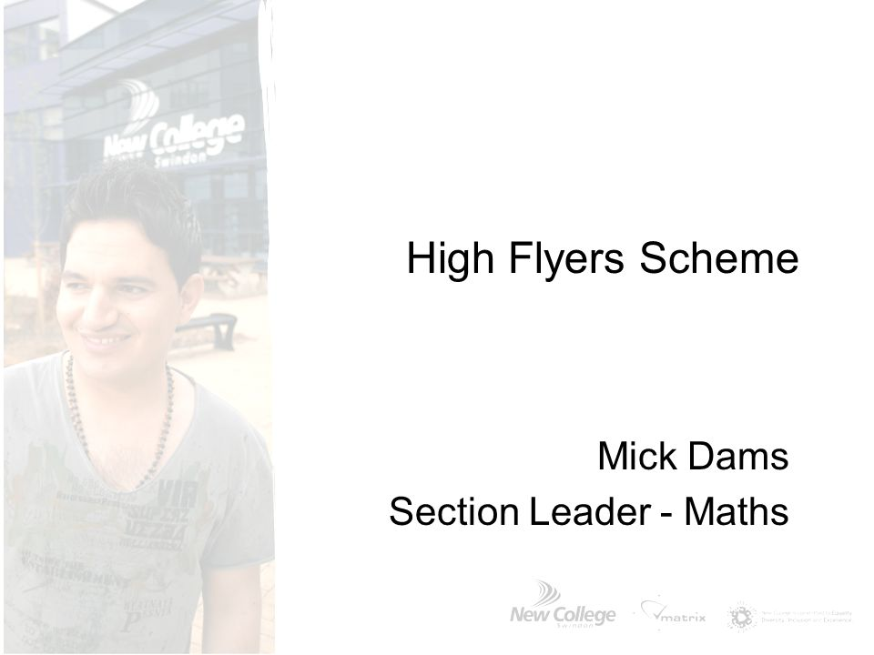 Mick Dams Section Leader - Maths