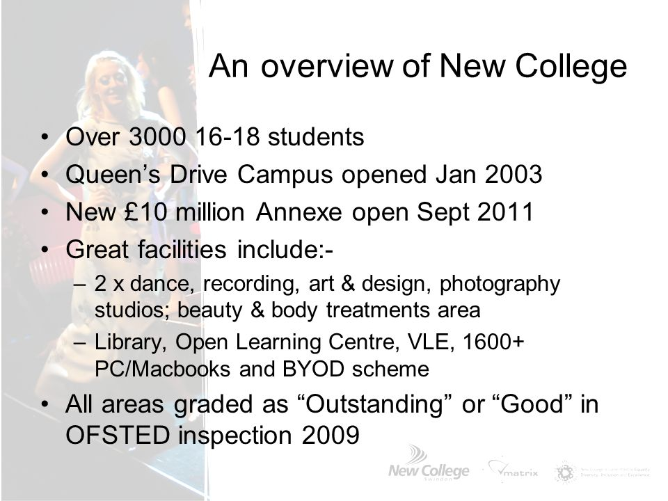 An overview of New College