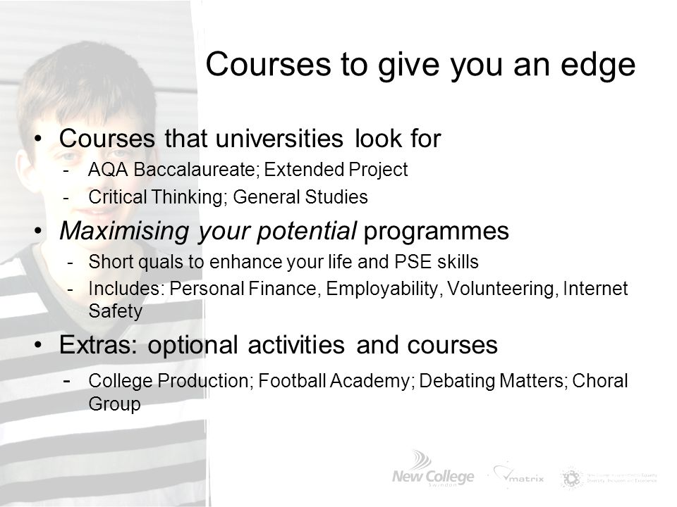 Courses to give you an edge