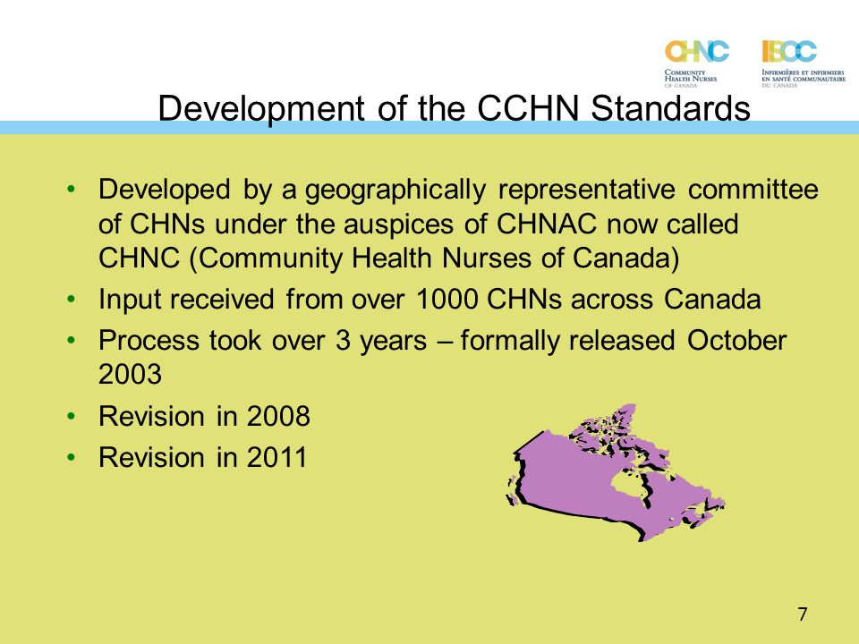 canadian community healthy nursing standards of practice pdf