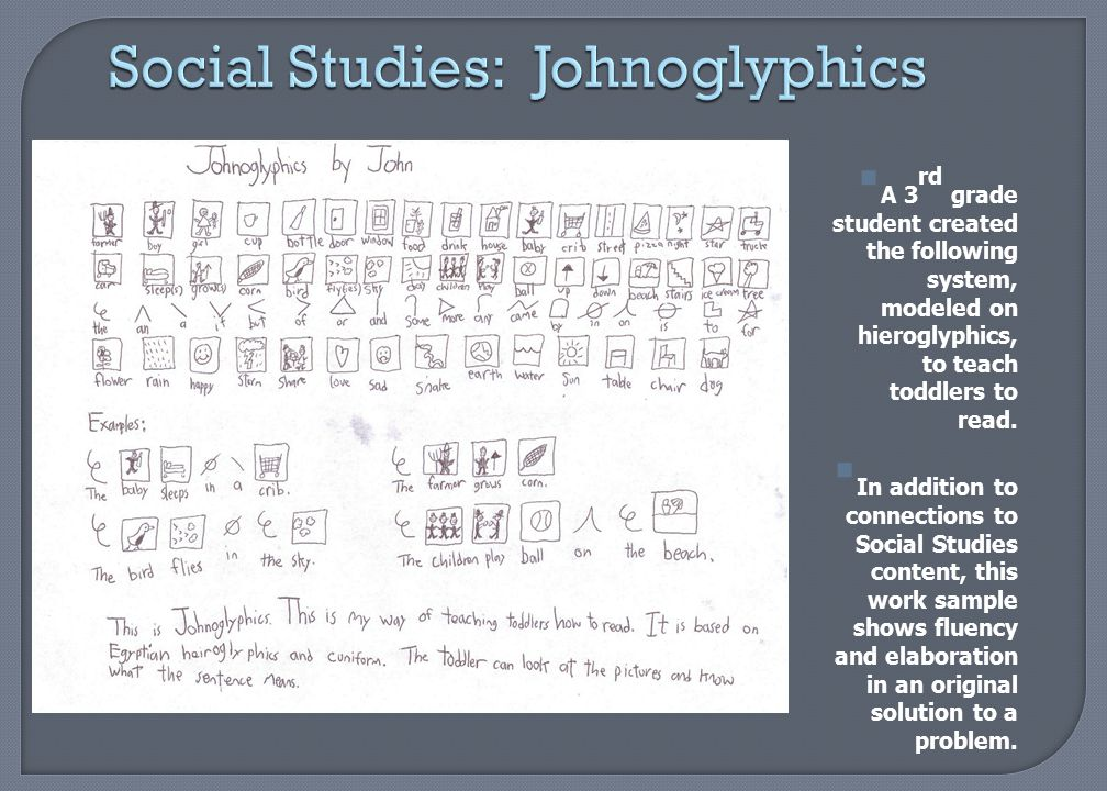Social Studies: Johnoglyphics