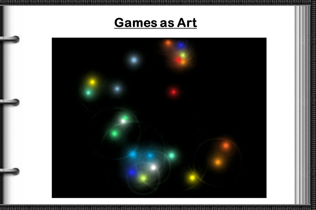 Games as Art