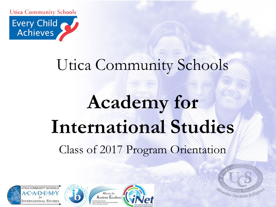 Utica Community Schools Academy for International Studies