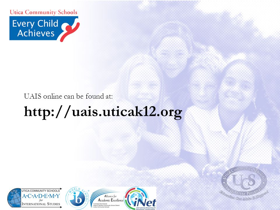 UAIS online can be found at: