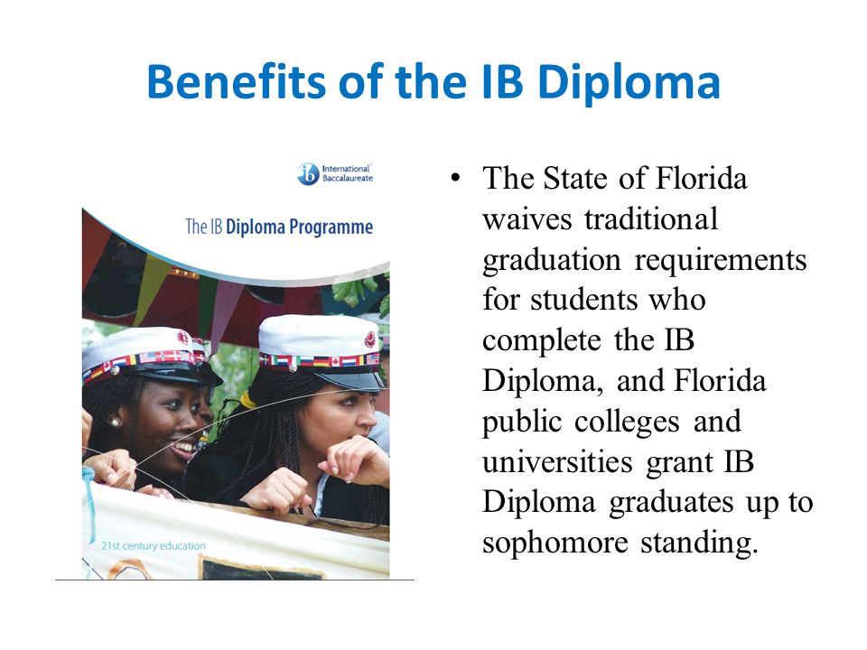 Benefits of the IB Diploma