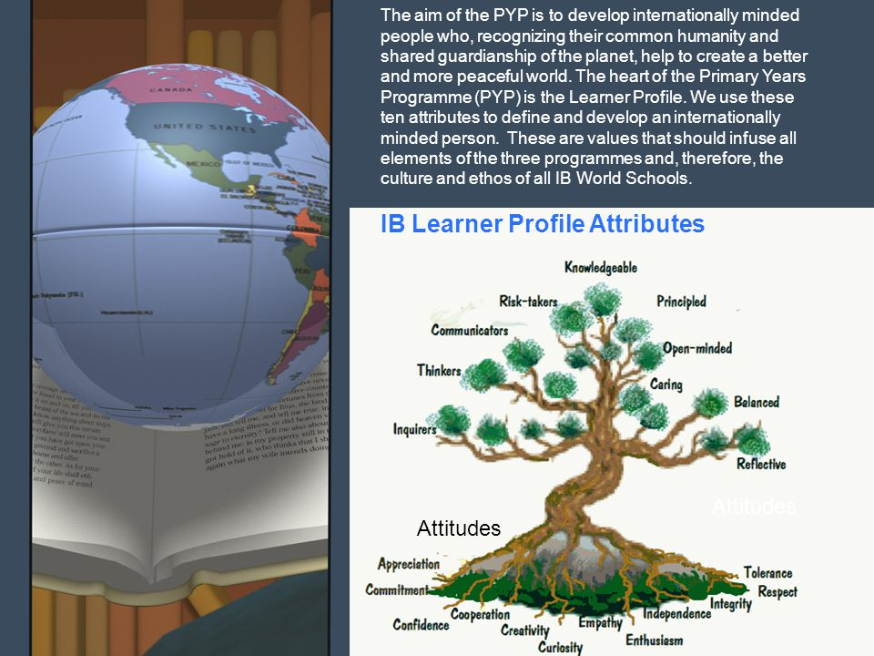 IB Learner Profile Attributes