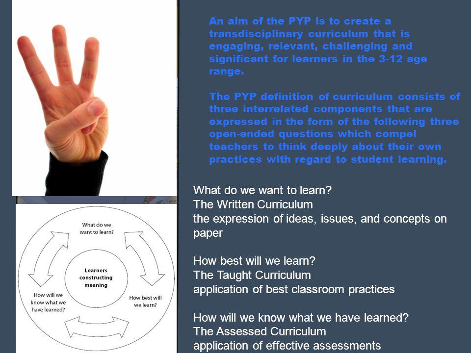 The Written Curriculum