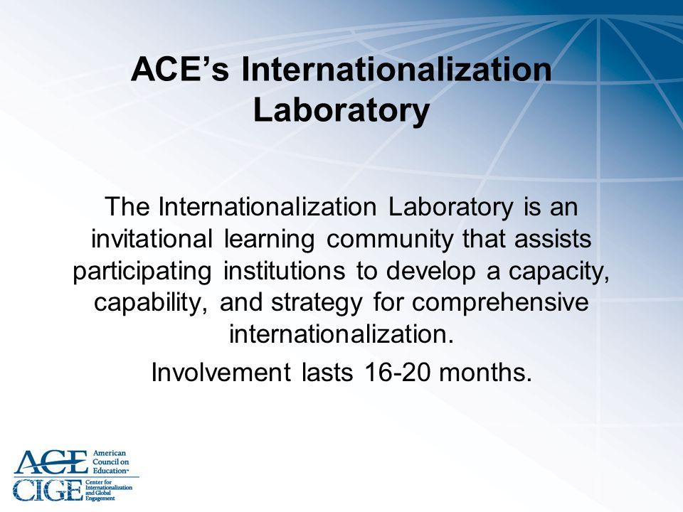 ACE's Internationalization Laboratory